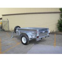 China Custom 7X4 Galvanised Off Road Trailer , Off Road ATV Trailer With Heavy Duty Axle wholesale