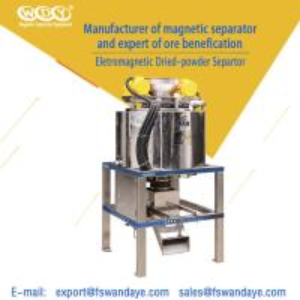 China 200 Mesh Feldspar Powder Magnetic Separator Machine 3A160 Water / Oil Double Cooling quartzsand wholesale