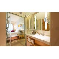 China Custom Oval Silver Backed Mirror For Door / Wardrobe , Copper And Lead Free Mirror wholesale