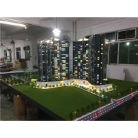 Buy cheap Real estate maquette with light, construction architecture model kits from wholesalers