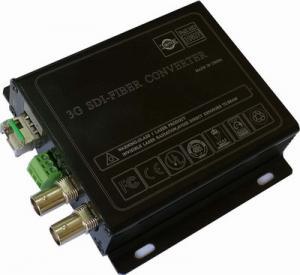 China PTZ Camera optical fiber transmission system,3G-SDI multi-functional signal to fiber converter wholesale