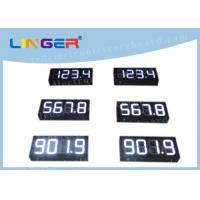 China IP65 Waterproof Digital Gas Price Signs Customized Design Installation wholesale