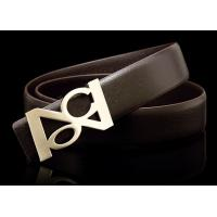 Quality fashion simply model belts in genuine leather for business man welcome in Brazil for sale