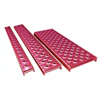 China Aluminum Galvanized Steel Grip Strut Grating , Perforated Grating Stair Treads wholesale