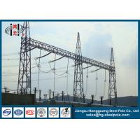 Buy cheap 10KV - 750KV Steel Substation Steel Structures for Power Transformer Substation from wholesalers
