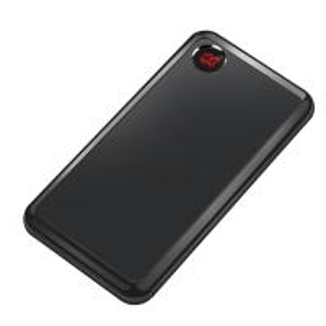 China Black Alloy Case Lithium 10000mAh Portable Power Supply wholesale