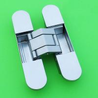 China zamac door Fitting 3D adjustable Hidden concealed hinges wholesale
