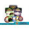 760 Pcs ABS Plastic Poker Card Sets , Casino Dedicated Custom Poker Set for sale