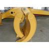 Quality Wearable Steel Mechanical Excavator Grapple Bucket with Rod wholesale