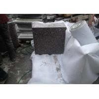 China High Hardness Natural Granite Floor Tiles , Grey Granite Countertop Slabs wholesale