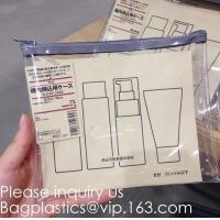 Buy cheap Frosted Pvc Document File Bag With Slider Zipper,Pvc Ziplock Bag For File And from wholesalers