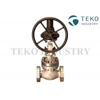 Buy cheap Class 150 SS BS 1873 Globe Valve Flange Connection Bolted Bonnet Metal Seated from wholesalers