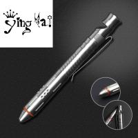 Buy cheap Hot Sale Break Glass Head stainless steel tactical ball pen with whistle and from wholesalers