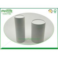 China Well - Sealing Cylindrical Cardboard Tubes , Coffee Paper Tube Packaging Elegant Design wholesale