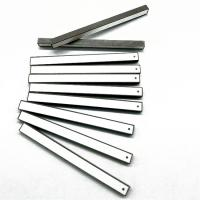 China Ceramic Rectangle Strip Piezoelectric Ceramic Materials Small Size High Frequency on sale
