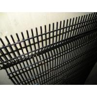 Quality Welded Black Garden Wire Fence Military Anti Climb 358 High Security For Prison for sale