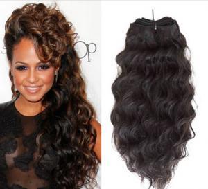 China Golden Hair Weave Peruvian Human Hair Tangle Free 100 Gram Each Pack wholesale