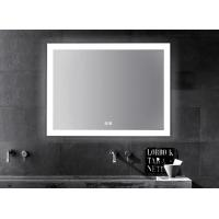 China LED Illuminated Touch Screen Bathroom Mirror With Aluminum Frame Sensor Demister wholesale
