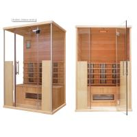 China Cedar Far Infrared Sauna Cabin on sale