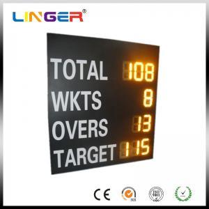 China High Brightness LED Cricket Scoreboard , Sports Scoreboard For OEM / ODM Acceptable wholesale