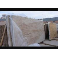 Buy cheap Gold Polished Granite Natural Stone Slabs 126MPa Compressive Strength from wholesalers