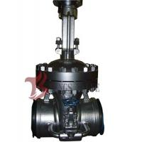 China Cast Steel Flex / Solid Wedge Gate Valve With Bypass Valve HF Seal API / DIN Standard wholesale