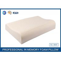 Buy cheap Wave Shape Health Care Open-Cell Natural Latex Foam Pillow With Soft Cover from wholesalers