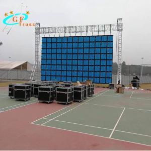 China Small and medium-sized door post lighting rack for aluminum door post truss LED display screen wholesale