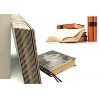 Buy cheap Grey Laminated Book Binding Cover Board , 1.5mm Book Boards For Binding from wholesalers