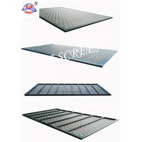 China Metal Back Frame Shale Shaker Screen Swaco With Mongoose Steel Frame wholesale