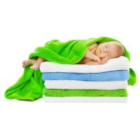 China high quality terry towelling bath wrap for baby girls and baby boys on sale