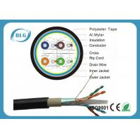 China Dual Layer Jacket Cat6 LAN Cable Outdoor FTP Al Foil Shielded PVC PE Material wholesale