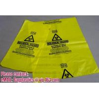 China Biohazard Bin Liners, Biohazard Waste Bags, Biohazard Garbage, Waste Disposal Bag wholesale