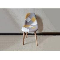 China Nordic Style Modern Dining Chairs Upholstered , Beech Wood Chair wholesale