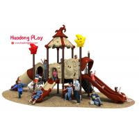 China Magic House Series Slide Play Equipment Small Size Fashion Cute Design High Reliability wholesale