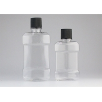 China Screw Cap 180ml Transparent Plastic Cosmetic Bottles For Washing Packaging wholesale