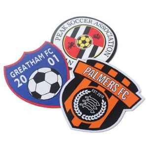 China Polyester Embroidery Sports Team Patches wholesale