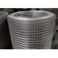 Quality 0 . 7mm Electro Hot Dip Galvanized Welded Wire Mesh Stainless Steel Agricultural for sale