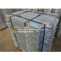 China DIC Lightweight Hot Dipped Galvanized Steel Grating With Fish Tail  Plat / Hinge wholesale