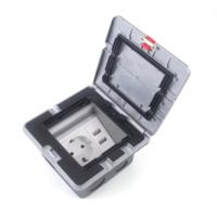 Buy cheap Electric Pop Up Waterproof Floor Outlet Box Socket With 20 Amps Receptacle from wholesalers