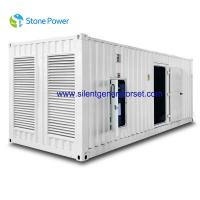 Buy cheap CUMMINS Silent Diesel Generator Set 1000kw 1250kva With KAT50-G8 Engine from wholesalers