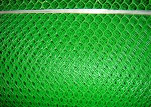 China 0.6cm Hole 5mm Green Plastic Mesh Netting Roll wholesale