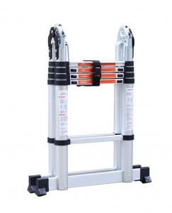China Extendable 150kg 3.2m Aluminum Multi Purpose Ladder wholesale