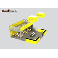 China Durable Double Decker Trade Show Booth / Two Level Booth For Trade Show Display Stand on sale