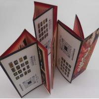 China Small Folded Leaflet Printing For Electronics, Promotional C2s Paper 7 Folds User Manual on sale