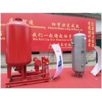 China 0.6 MPa Pressure Diaphragm Pressure Tank Galvanized Stainless Steel High Volume on sale