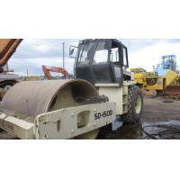 China USED INGERSOLL-LAND SD-150D Single Drum Vibration Road Roller For Sale wholesale