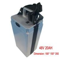 China Electric Bike Lithium 48V 20ah Battery Pack, with BMS wholesale