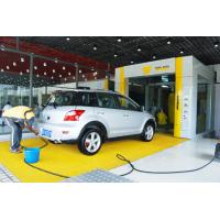 China Yellow Tunnel Car Wash System Brushed With Pneumatic Control System on sale