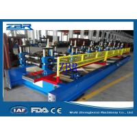 China 18 Rows Garage Door Metal Roll Forming Machines 8M - 12M / Min Production Capacity wholesale